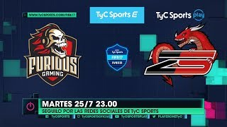 Liga TyC Sports IVECO de FIFA 17: Furious Gaming vs. Zeta Strike