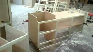 Center City Cabinets Poplar Cabinets Under Construction
