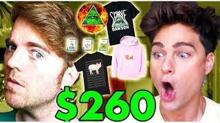 BUYING ALL OF *SHANE DAWSONS* MERCH!! $260 HAUL!!