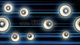 Free Stock Video Download - Speakers Motion Graphic Concept