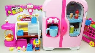 Shopkins Bakery, Refrigerator toy 콩순이 냉장고 겨울왕국 미니특공대 뽀로로 샾킨즈 장난감