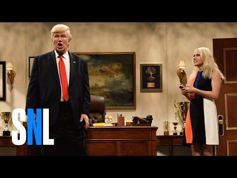 Donald Trump Prepares Cold Open SNL