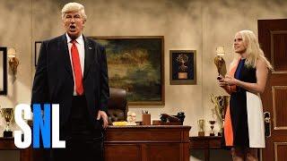 Donald Trump Prepares Cold Open - SNL