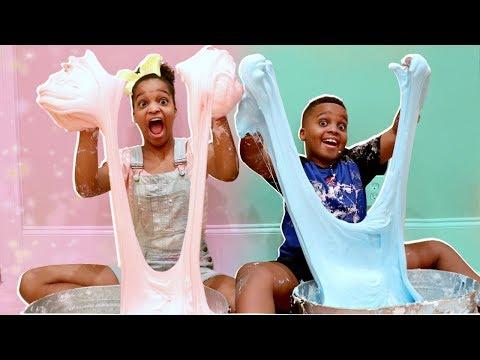 Xxx Mp4 DIY FLUFFY SLIME Shiloh And Shasha Onyx Kids 3gp Sex