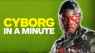 Justice League: Who Is Cyborg?