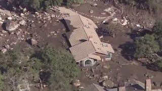California mudslides