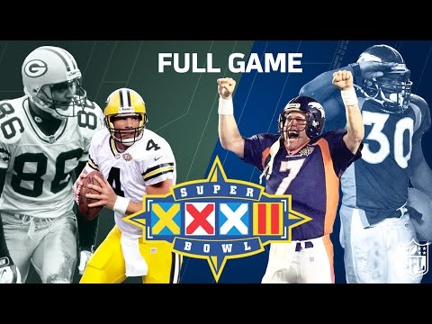 Super Bowl XXXII Elway's 1st Super Bowl Win | Green Bay Packers vs. Denver Broncos | NFL Full Game