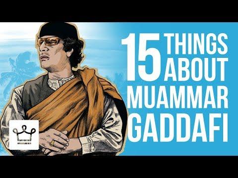 Xxx Mp4 15 Things You Didnt Know About Muammar Gaddafi 3gp Sex