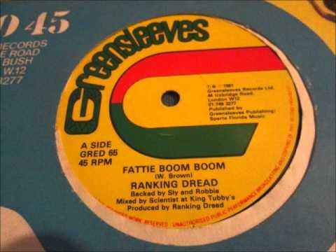 "Ranking Dread  - Fatty Boom Boom. 1981 . (12"" Classic Reggae)"