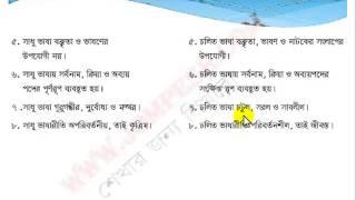 বাংলা ব্যাকরণ পাঠ ৩ – সাধু ও চলিত রীতির পার্থক্য