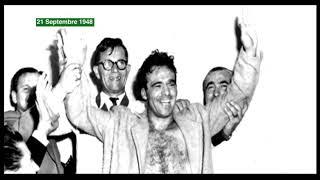 Éphéméride du 21 Septembre 1948 : Marcel CERDAN  est sacré champion de boxe