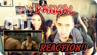 DANGAL TRAILER REACTION!! (Featuring my sister Anna)