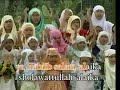 Malaysian Islamic Nasheed for children