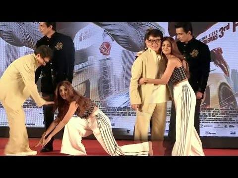 Shilpa Shetty Touched Jackie Chan's Feet At Kung Fu Yoga Promotions