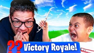 I HAVE TO CUT ALL MY HAIR OFF!!....If My Little Brother wins This GAME! YOU WONT BELIEVE WHAT HAPPEN