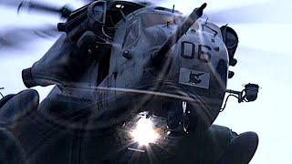USMC SUPER POWERFUL HEAVY-LIFT HELICOPTERS in ACTION during exercise 'Trident Juncture'!