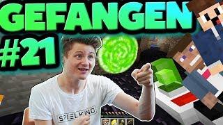 PORTAL GUN gecrafted! | Minecraft Gefangen #21 | Logo & Felix
