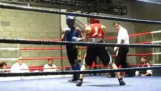 Joy's firstt amateur fight