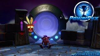 Crash Bandicoot 2: Cortex Strikes Back - Air Crash Secret Exit (Jumping the Jetboard Trophy Guide)