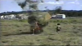 Kids Playing With a Dust devil