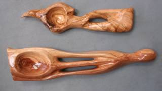 Artistically Carved Wooden Spoons | Liviu Cupceancu