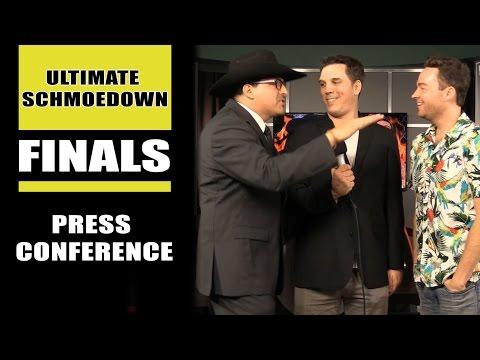 Ultimate Movie Trivia Schmoedown Tournament Finals Press Conference - Mark Ellis Vs John Rocha