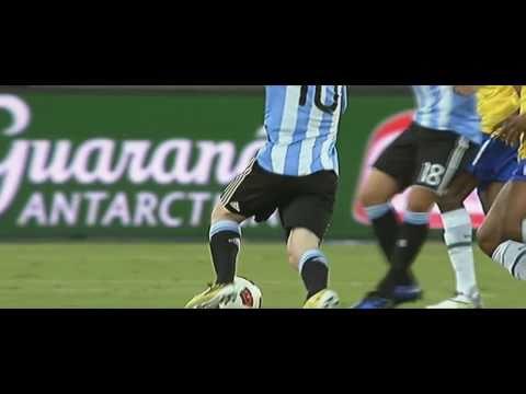 Argentina vs Brazil - Lionel Messi & Ronaldinho