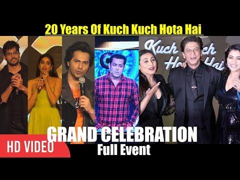 Xxx Mp4 UNCUT 20 Years Of Kuch Kuch Hota Hai GRAND Celebration Shahrukh Khan Salman Khan Kajol Rani 3gp Sex