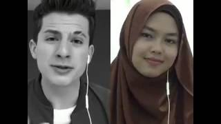 One Call Away - Charlie Puth & Sheryl Shazwanie (duet on Smule app)