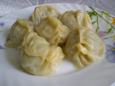 Русские манты рецепт
