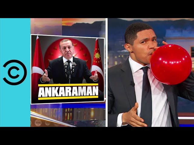 Things Are Happening In Turkey, Bigly - The Daily Show | Comedy Central