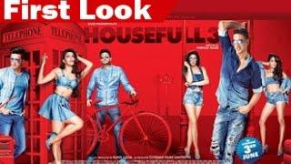 'Housefull 3' FIRST LOOK Posters Feat. Akshay Kumar, Riteish, Abhishek, Jacqueline, Nargis, Lisa