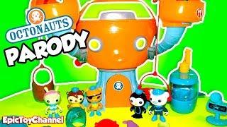 OCTONAUTS Disney Junior Octonauts Toys + Woody & Buzz Lightyear Toy Story Octonauts Toy Video