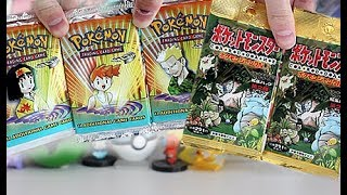 OLD SCHOOL Pokemon Booster Opening!!