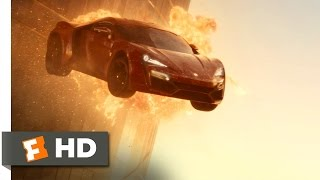 Furious 7 (5/10) Movie CLIP - Cars Don't Fly (2015) HD