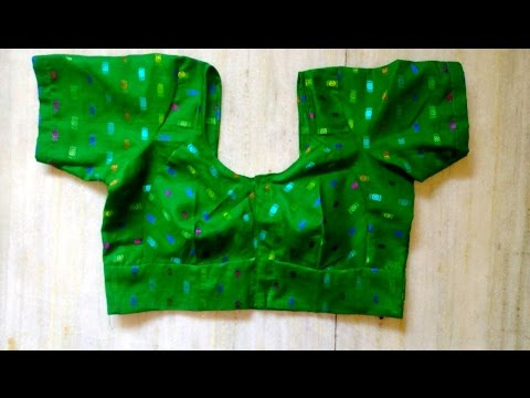 HOW TO MAKE SINGLE KATORI BLOUSE