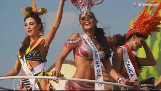 Las Reinas del 2016-2017 en la Batalla de Flores
