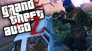 GTA V ZOMBIES -  Aonde começou o APOCALIPSE, será que achamos? | Ep14 (GTA 5 Survival Zombie MOD)