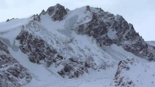 Talgar Pass In Kazakhstan In Winter
