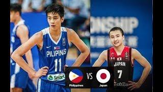 Philippines vs. Japan FULL HIGHLIGHTS   Fiba Asia U16   04.06.18