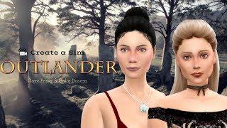 Claire Fraser & Geillis Duncan | The Sims 4 CAS