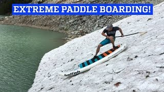 Extreme White Water River Stand Up Paddleboarding!