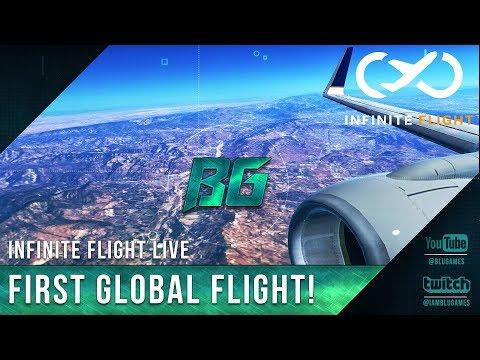 Xxx Mp4 Infinite Flight Live GLOBAL FIRST FLIGHT KSAN KSFO KRNO 3gp Sex