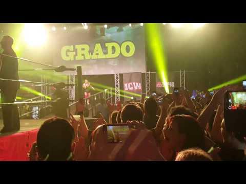 Grado enters the SECC - Fear and Loathing VIII