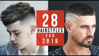 28 Hairstyles You Will See in 2018 + New Haircut Trends!