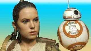 Hot Toys Star Wars Rey and BB-8 Action Figure Review