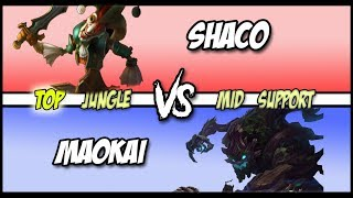 Running Them Down! | ft. Rekkles & Ignar - Ap Shaco Top vs Maokai Full Game #111