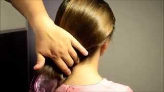 HAIR PLAY AND HEAD MASSAGE (ASMR español) (Masaje y juego con el pelo)
