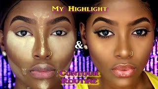 My Highlight & Contour Routine | Detailed Updated Tutorial