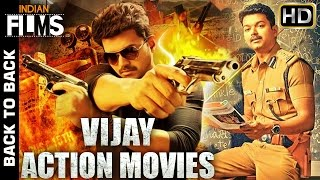 Vijay Full Hindi Dubbed Movies | Back to Back Hindi Action Movies | 2016 South Indian Dubbed Movies